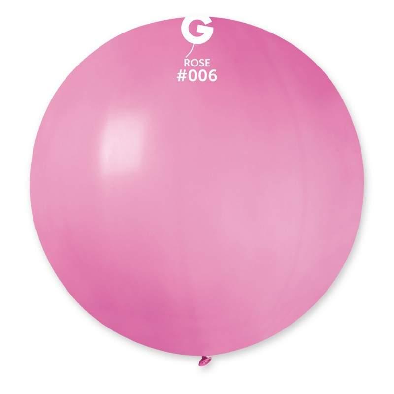 """31"""" Ροζέ μπαλόνι"""