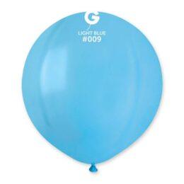 "48cm – 19"" Γαλάζιο μεγάλο μπαλόνι"