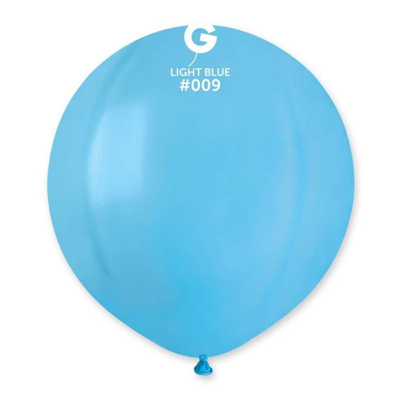 48cm - 19'' Γαλάζιο μεγάλο μπαλόνι