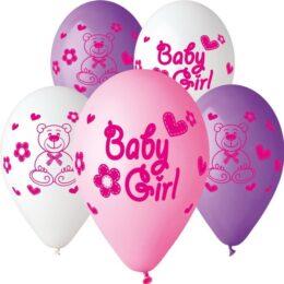 12″ Μπαλόνι Baby girl αρκουδάκι