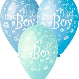 12″ Μπαλόνι Its a boy ελεφαντάκι