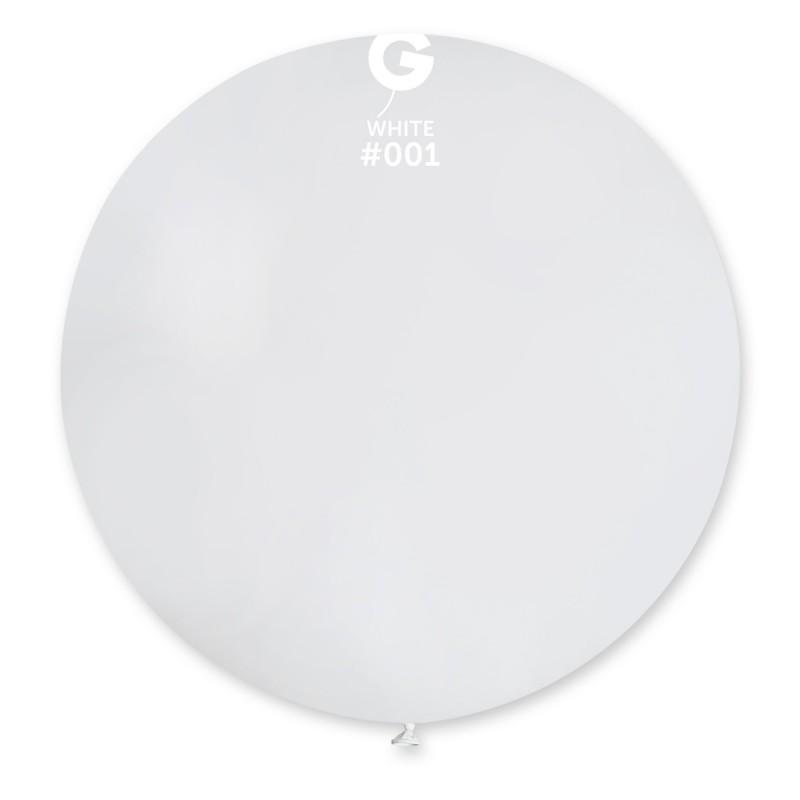 """31"""" Άσπρο μπαλόνι"""