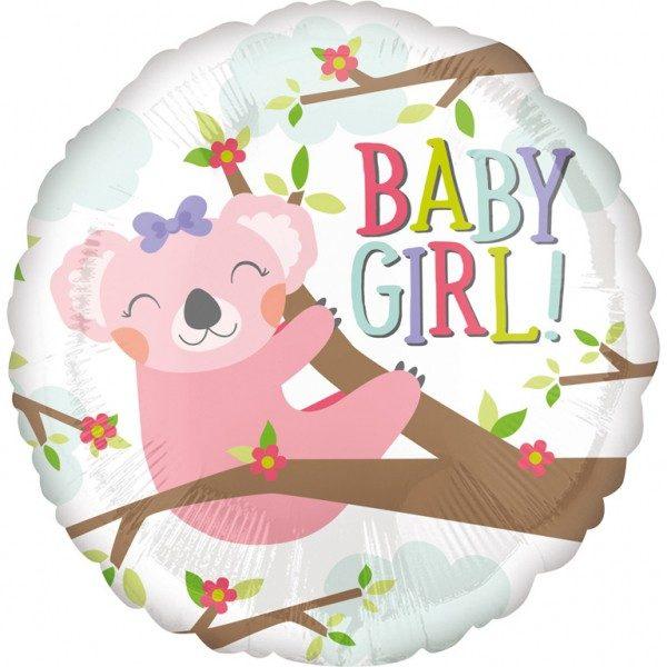 Μπαλόνι Baby Girl Κοάλα 45 εκ