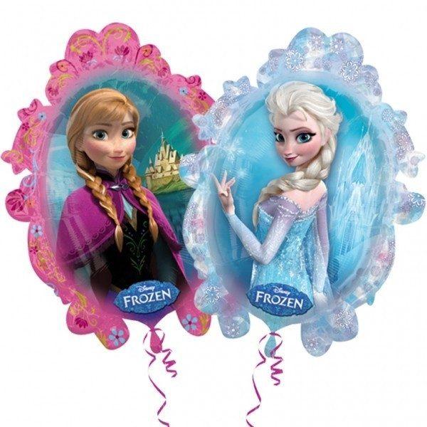 Μπαλόνι Mirror Frozen Elsa & Anna 78 εκ