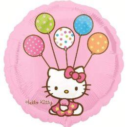 Μπαλόνι Hello Kitty με μπαλόνια 45 εκ
