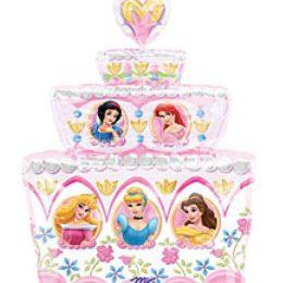 Μπαλόνι τούρτα Πριγκίπισσες Disney 79 εκ