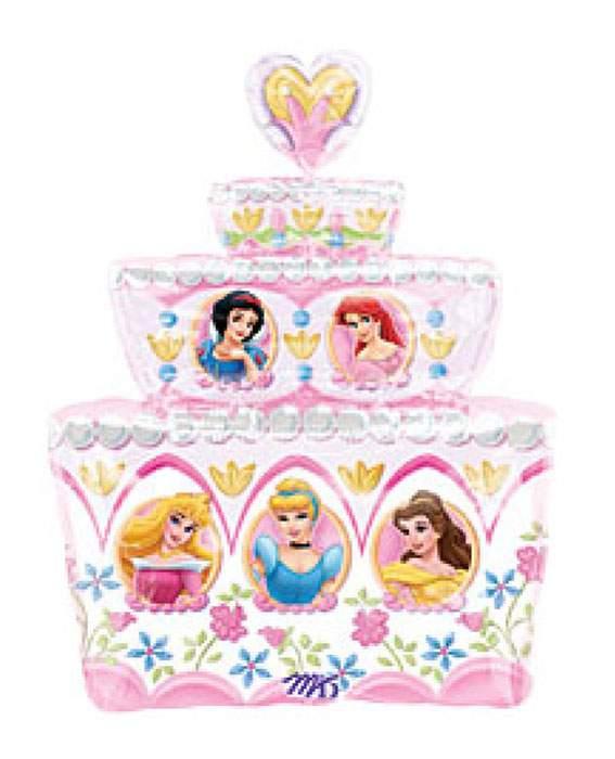 Μπαλόνι τούρτα Πριγκίπισσες Disney