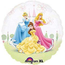 Μπαλόνι Πριγκίπισσες Disney διάφανο45εκ