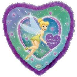 Μπαλόνι Tinkerbell καρδιά με φτερά91 εκ
