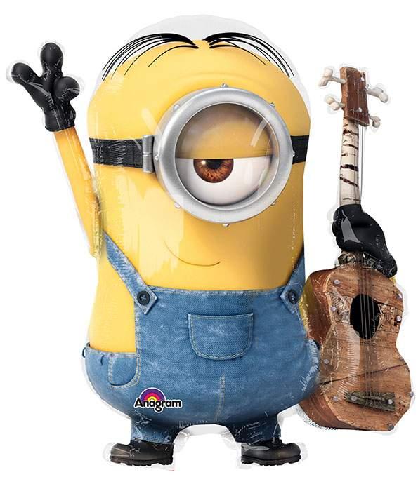 Μπαλόνι Minions με κιθάρα