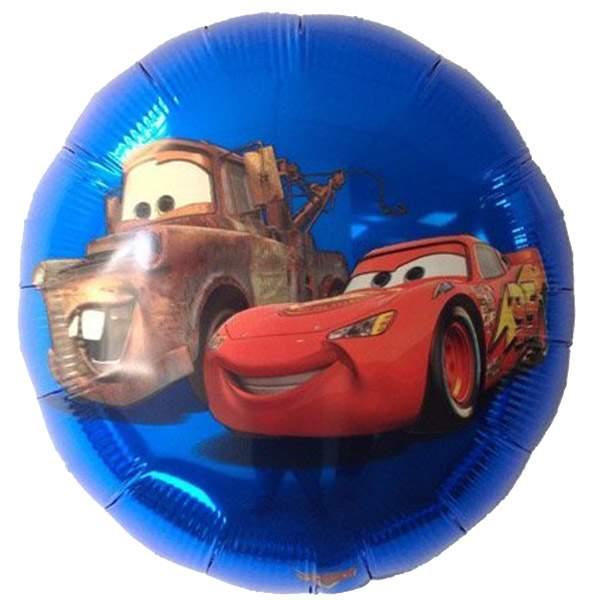 Μπαλόνι Cars Disney στρογγυλό 45 εκ