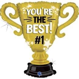 Μπαλόνι Χρυσό Κύπελλο You're the Best No1