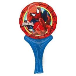 Μπαλονάκι Spiderman με λαβή 30 εκ