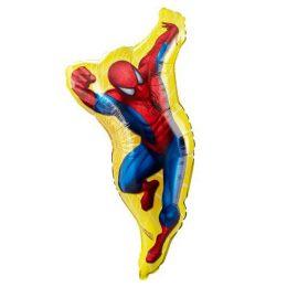 Μπαλόνι Spiderman φιγούρα κίτρινη