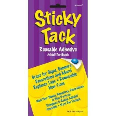 Sticky Tack επαναχρησιμοποιήσιμα αυτοκόλλητα