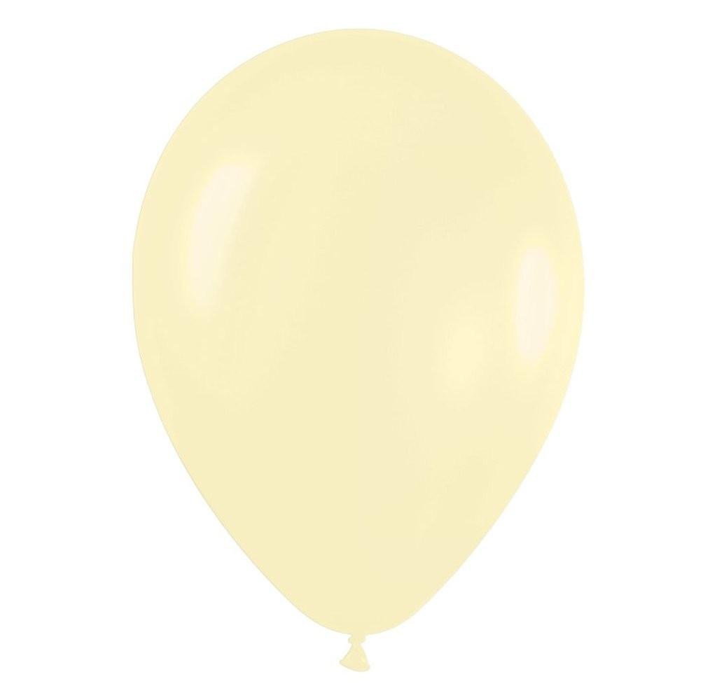 """9"""" Παστέλ Ιβουάρ λάτεξ μπαλόνι"""