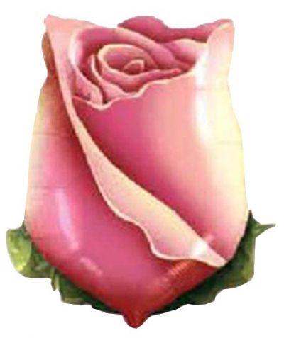 Μπαλόνι κλειστό Ροζ Τριαντάφυλλο 56 εκ