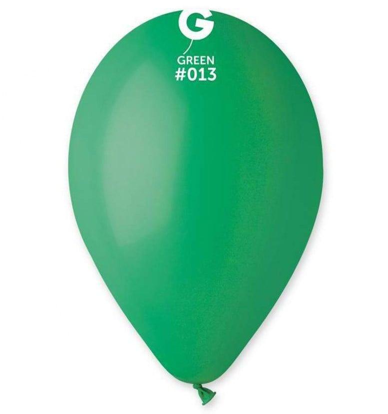 12″ σκούρο πράσινο λάτεξ μπαλόνι