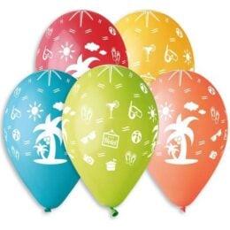 12″ Μπαλόνι τυπωμένο Διακοπές