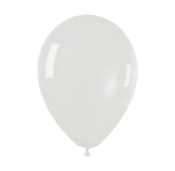 """9"""" Διάφανο λάτεξ μπαλόνι"""