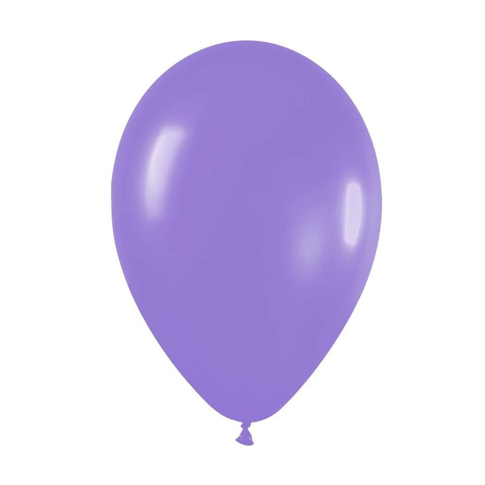 """9"""" Λιλά λάτεξ μπαλόνι"""