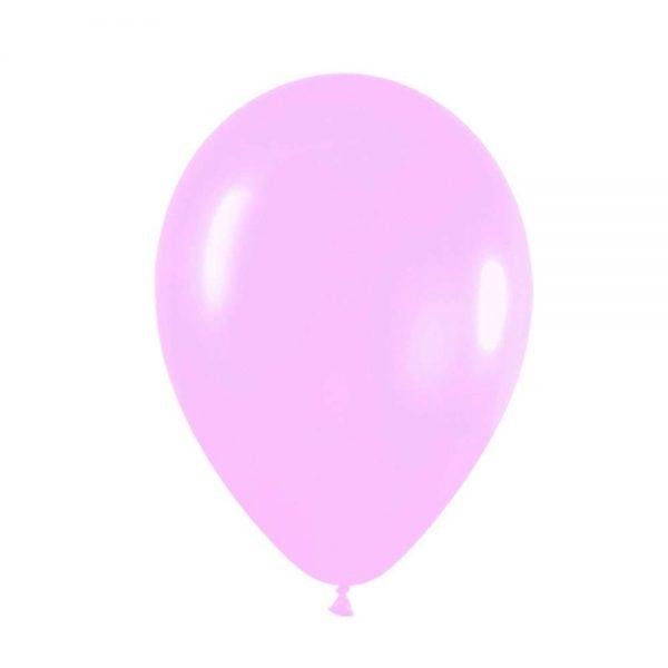 """9"""" Παστέλ Ροζ λάτεξ μπαλόνι"""