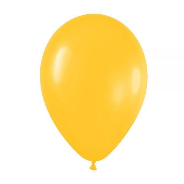 "9"" Goldenrod λάτεξ μπαλόνι"