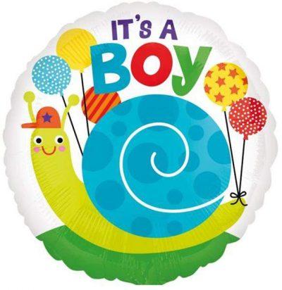 Μπαλόνι Its a Boy σαλιγκάρι 45 εκ