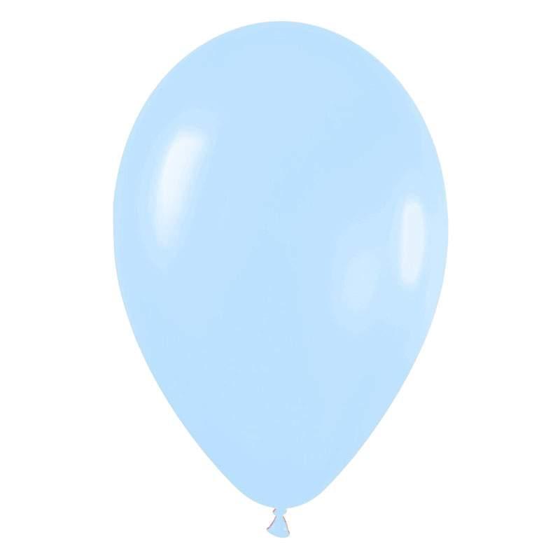 """9"""" Παστέλ Γαλάζιο λάτεξ μπαλόνι"""
