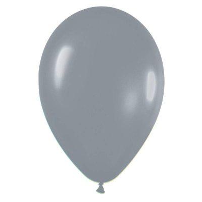 """9"""" Γκρι λάτεξ μπαλόνι"""