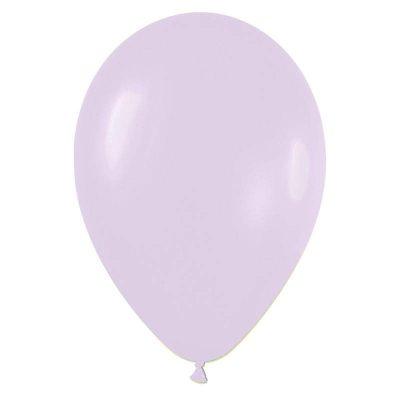 """9"""" Παστέλ Λιλά λάτεξ μπαλόνι"""