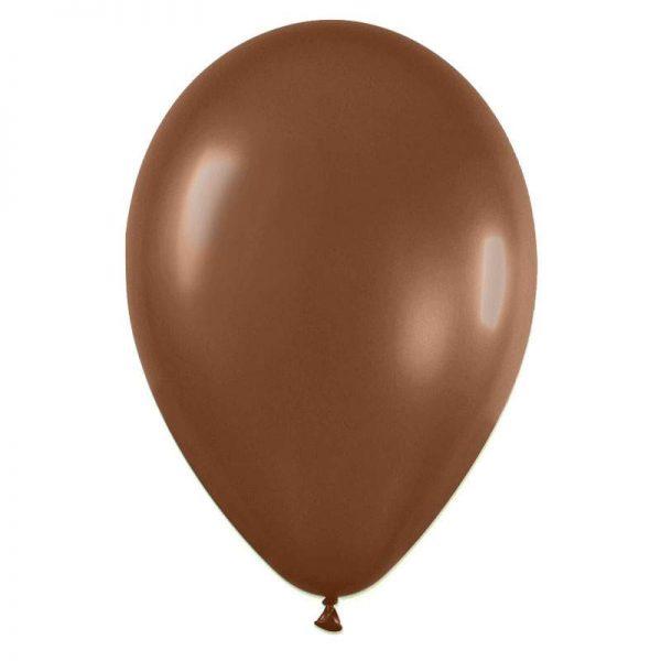 """9"""" Σοκολατί λάτεξ μπαλόνι"""