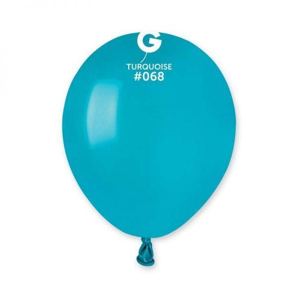 """5"""" Τυρκουάζ λάτεξ μπαλόνι"""