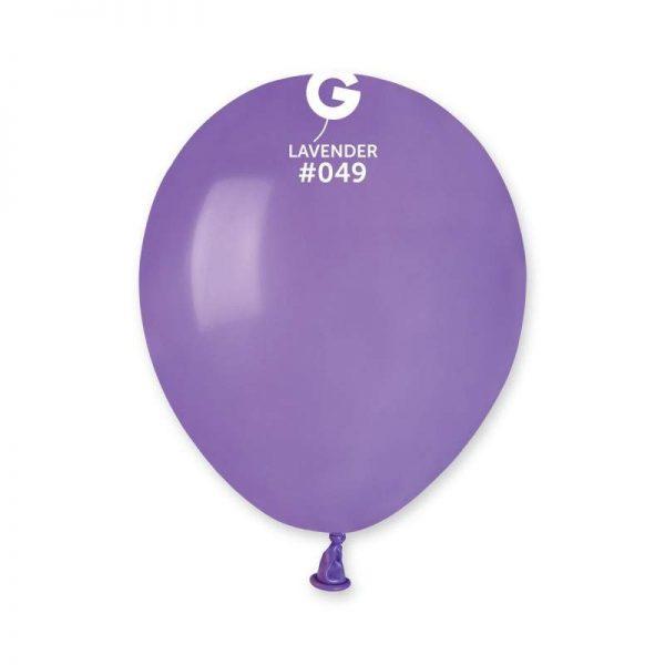 """5"""" Βιολετί λάτεξ μπαλόνι"""