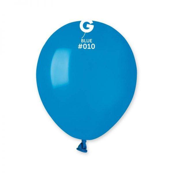 """5"""" Μπλε λάτεξ μπαλόνι"""