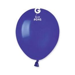5″ Σκούρο Μπλε λάτεξ μπαλόνι