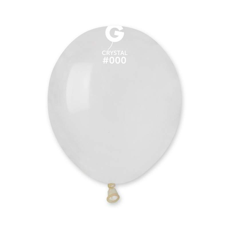 5″ Crystal Διάφανο λάτεξ μπαλόνι