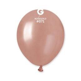 "5"" Rosegold λάτεξ μπαλόνι"
