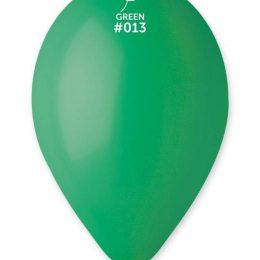 """12"""" Σκούρο Πράσινο λάτεξ μπαλόνι"""