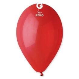 9″ Κόκκινο λάτεξ μπαλόνι