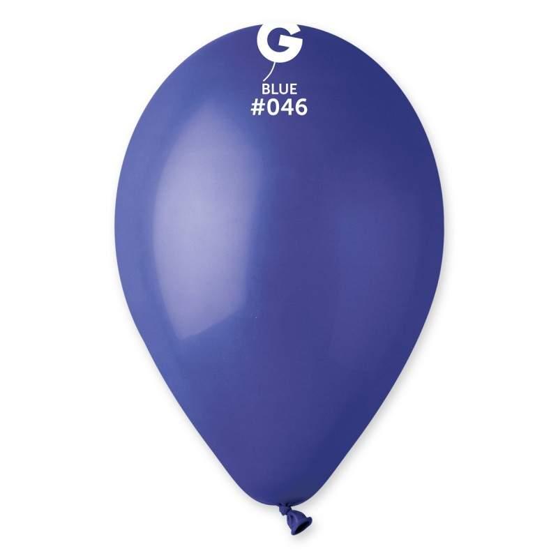 9'' Royal Μπλε λάτεξ μπαλόνι