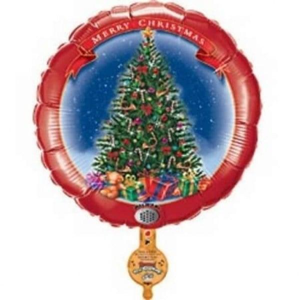 Μπαλόνι Christmas tree που ηχογραφεί μήνυμα