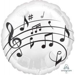 Μπαλόνι Μουσικές Νότες 45 εκ