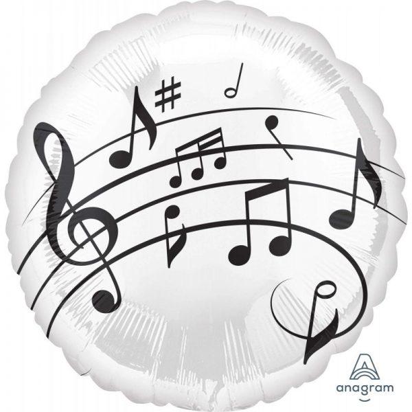 Μπαλόνι Μουσικές Νότες