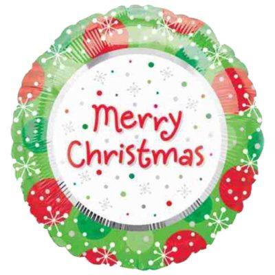Μπαλόνι χριστουγεννιάτικο merry Christmas