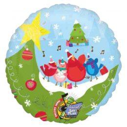 Μπαλόνι χριστουγεννιάτικο μουσικό 81 εκ