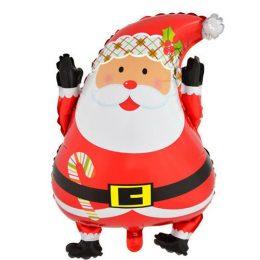 Μπαλόνι χαρούμενος Άγιος Βασίλης 63 εκ