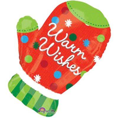 Μπαλόνι χριστουγεννιάτικο Γάντι 71 εκ