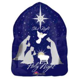 Μπαλόνι χριστουγεννιάτικο Άγια νύχτα