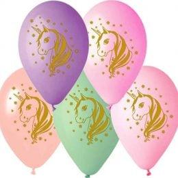 12″ Μπαλόνι τυπωμένο Μονόκερος